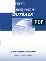 Outback 2000 Manual Single