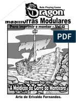 Masmorras Modulares - Vol12 - OdDay16