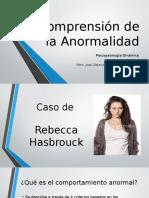 Comprensión de La Anormalidad