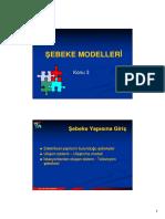 tgy3 - Sebeke Modelleri