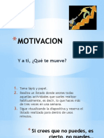 MOTIVACIÓN - PERCEPCIÓN.