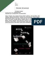 Ecce Homo Ludens Saison Suisse