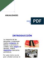 Anualidades Ingenieria Economica 2016 #1