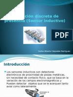 Detección discreta de presencia (Sensor inductivo).pptx