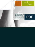 2016 Nuclear Decommissioning Funding Study