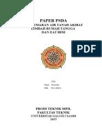 Paper Pencemaran Air Tanah di Dusun Rancabulus