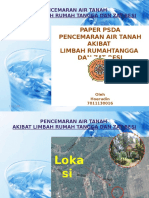 PPT Pencemaran Air Tanah di Dusun Rancabulus