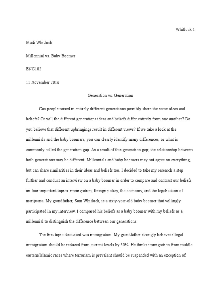 Baby boom essay ideas top papers ghostwriters services gb