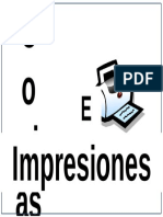 Copias e Impresiones Cartel