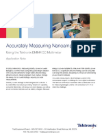 Acc Measure Nanoamperes AppNotes