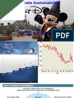 Walt Disney Sustainability