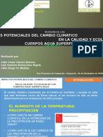 Precentacion- Cambio Climatico Ibqa 7 Semestre