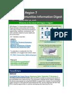 EPA Region 7 Communities Information Digest - September 30, 2016