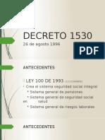 DECRETO 1530