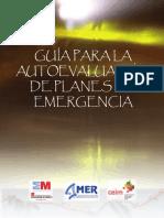 Guc3ada Autoevaluacic3b3n de Planes de Emergencia