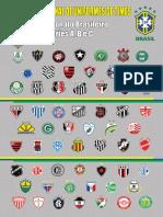 Uniformes Times Brasileiros
