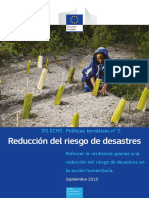 DRR Thematic Policy Doc Es