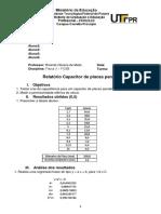 relatório fisica 3