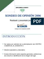 Sondeo de Opinión 2006