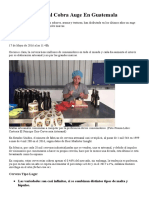 Cerveza Artesanal Cobra Auge en Guatemala