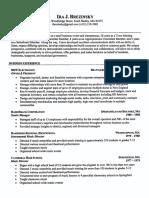 Brezinsky Resume