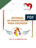 Especial de Pentecostés 2016 Colegios (1)