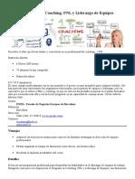 Postgrado Online en Coaching