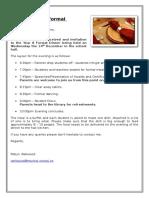 Formal Information Letter 2016
