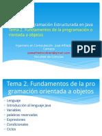 02 Tema 2 Fundamentos de La Programacion Orientada a Objetos