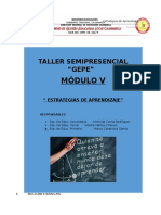 Modulo-estrategias de Aprendizaje IV