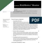 RiskMetrics (Monitor) 1