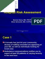 Hospital Risk Assessment