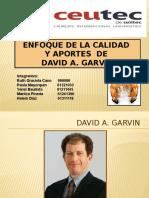 David Garvin Exposicion
