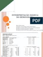 Interpretação (Básica) Do Hemograma