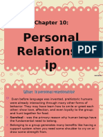 CHAPTER 10 Personal Relationship