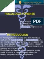 Psicología Forense de Walter Rodriguez Tapia