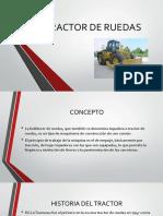 Exposicion Tractores de Rueda