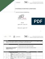 Plan de Trabajo Academia IIAL Agosto 2016-Enero 2017
