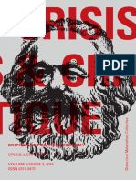 CRISIS & CRITIQUE - Vol 3, Issue 3, 2016_Critique of Political Economy