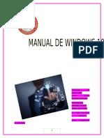 tarea de windows 10