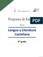8° Lengua y Literatura Castellana 8° 25_11