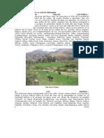 Tipos de Relieve de La Costa Peruana