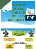 Control de las causas de accidentes