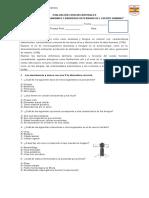 Evaluación Séptimo Básico Microorganismos