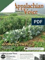 June-July-August 2010 Appalachian Voice Newsletterletter