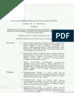 KM 45 Th. 2015 Ttg Tim Evaluasi Kemanfaatan (Proyek 10M Keatas)