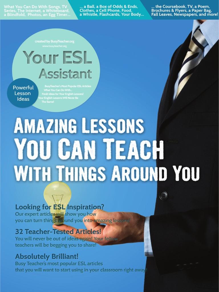30 Busy Teacher\'s ESL Cheat Sheets Holidays | Menu | Test (Assessment)