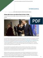 Obama Pide Al Nuevo Presidente Firmeza Frente a Putin _ Internacional _ EL PAÍS
