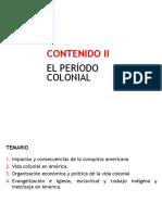 Contenido 05 - El Período Colonial