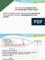 Konsep Statistika 2014